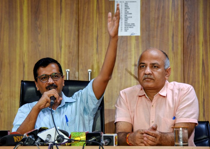 The 1,300-page charge sheet claimed that Kejriwal, Sisodia and others criminally conspired to threaten the Chief Secretary with death or grievous hurt, obstructed him in discharging his public function and caused hurt. PTI file photo