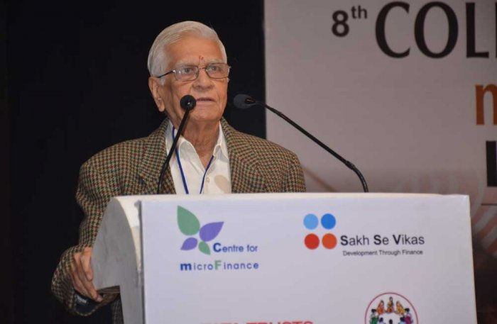 Padma Bhushan awardee and noted agricultural economist Vijay Shankar Vyas. Image courtesy Twitter