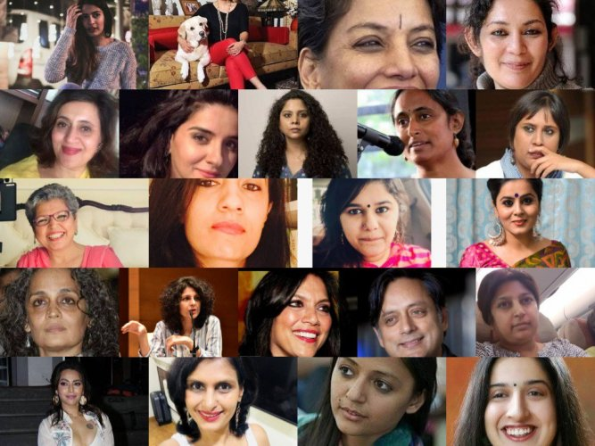 The collage created by Raj Aanand for his tweet. Let us know who you recognise.