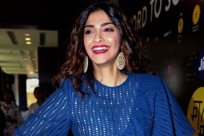 Actress Sonam Kapoor Ahuja. PTI Photo