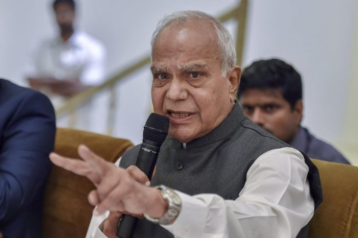 """Tamil Nadu Governor Banwarilal Purohit said a decision on the issue would be taken in a """"just and fair manner"""" in accordance with the Constitution."""