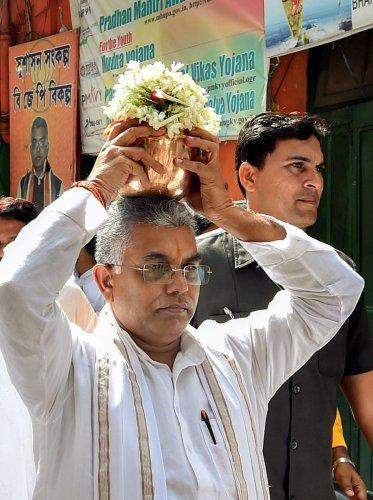 BJP state President Dilip Ghosh. (PTI File Photo)