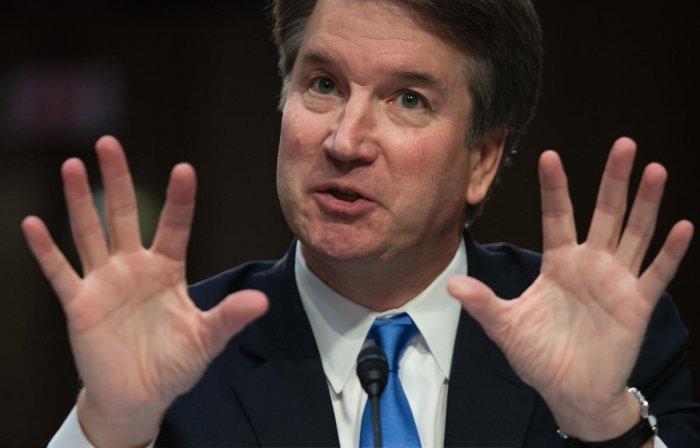 US Supreme Court nominee Brett Kavanaugh. AFP file photo
