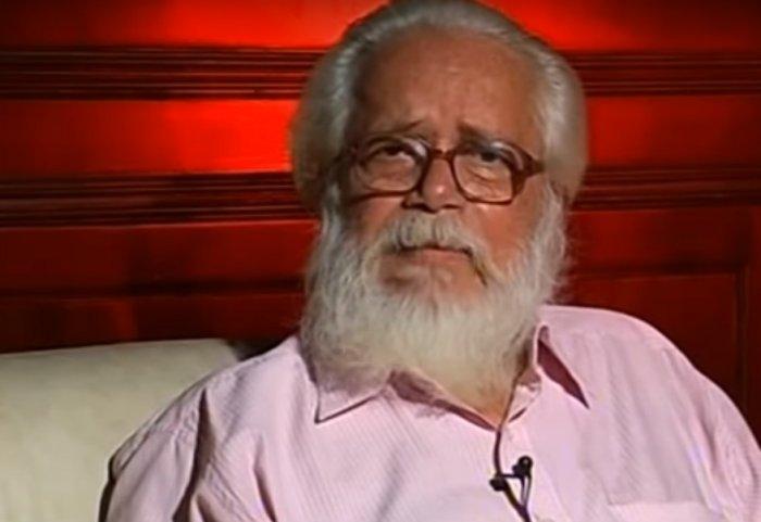 76-year-old former ISRO scientist Nambi Narayanan. (screen grab)
