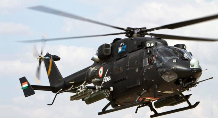 IAF plans to set up a major helicopter training facility at Donakonda in Prakasam district of Andhra Pradesh. (DH File Photo)
