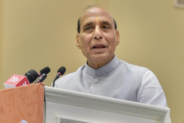 Singh will travel to a forward area in Jammu to inaugurate the ambitious project as part of a day-long tour. (PTI Photo)