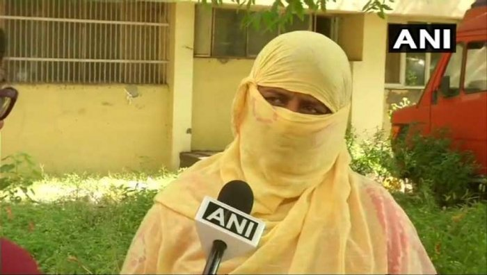 """""""The accused should be hanged,"""" the woman's mother told reporters in her village in Rewari. (ANI Photo/Twitter)"""