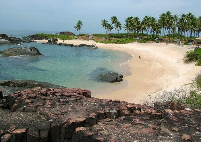 A view of St Mary's Island in Udupi district.