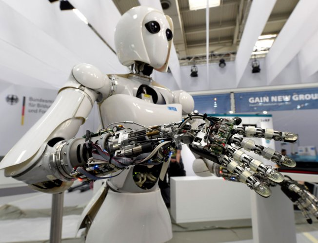 """The sharp increase could also see a net gain in """"new roles"""" for humans, who will have to revamp skills to keep pace with the """"seismic shift"""". Reuters file photo for representation."""