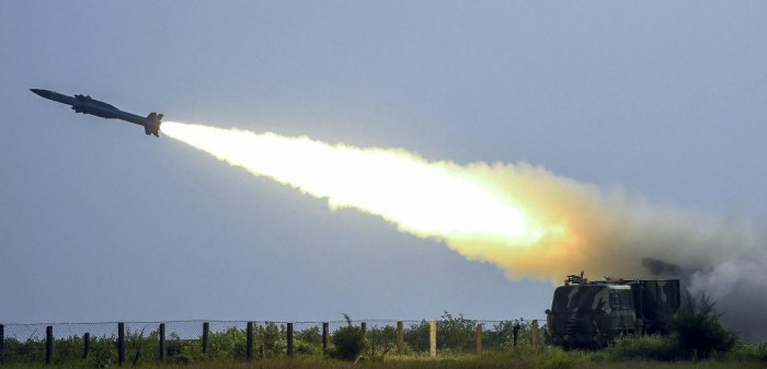 The upgraded Akash weapon system is an operationally critical equipment which will provide protection to vital assets, the ministry stated. File photo