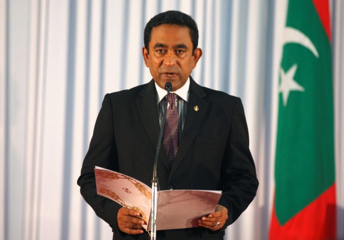 Abdulla Yameen, whose main political rivals are in jail or exile, has denied any involvement in the alleged island-leasing scam, which first came to light in a 2016 investigation by Al Jazeera. Reuters File Photo