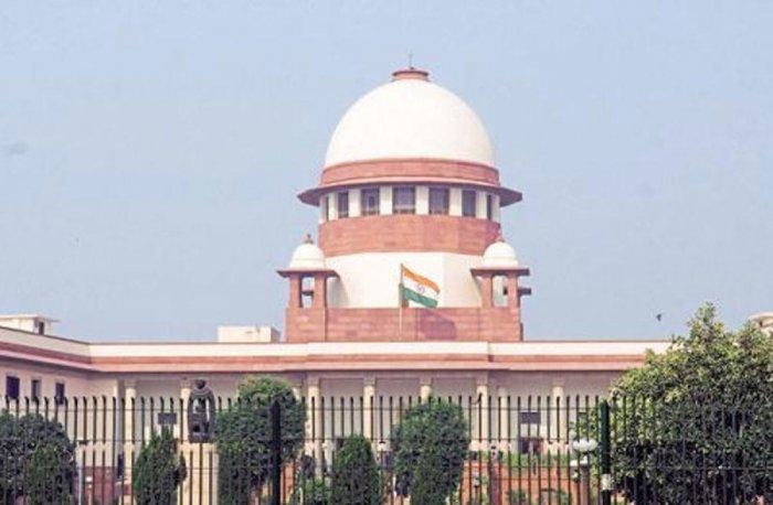 A view of the Supreme Court of India in New Delhi. (pic for representation only)