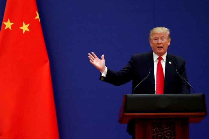 Escalating the trade war with the world's second-largest economy, Donald Trump alleged that China had been unwilling to change its unfair trade practices. Reuters Photo