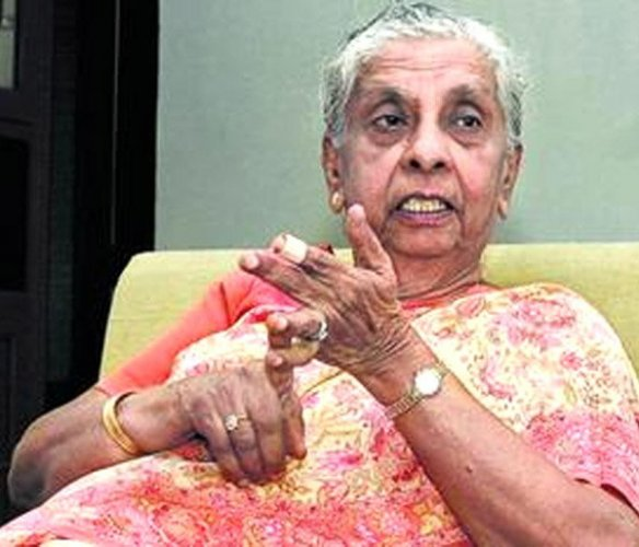 India's first woman IAS officer post-Independence, Anna Rajam Malhotra, died at her residence in suburban Andheri here on Monday, her family sources said. DH File Photo