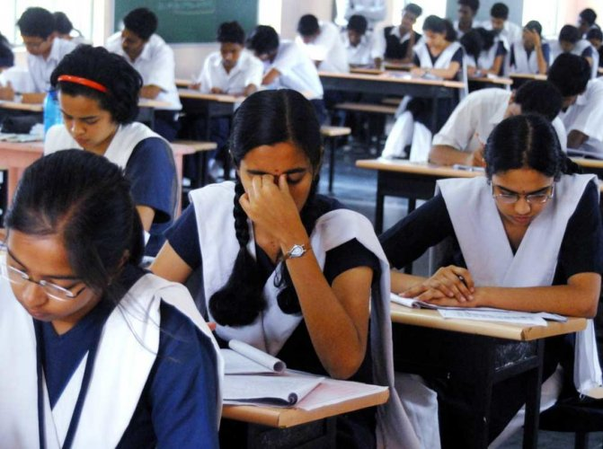 The CBSE has refuted a girl student's claim to the Kerala High Court of having been given a wrong question paper in the recent Mathematics board exam, saying she had 'fabricated a story' as she was 'weak' in the subject. PTI file photo for representation