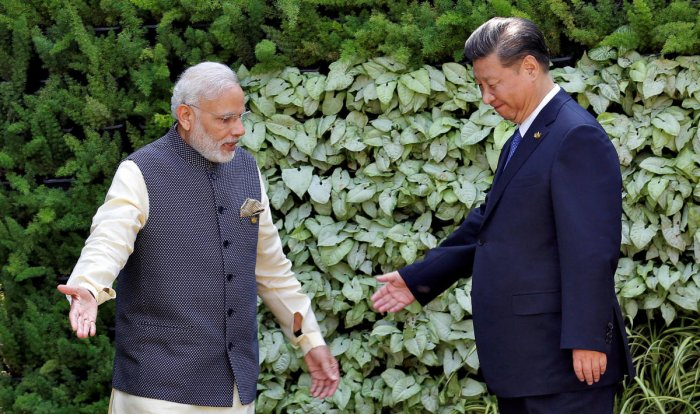 Modi and Xi are due to hold a two-day informal summit here from tomorrow. Reuters photo