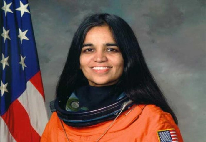 Kalpana Chawla was the first woman of Indian-origin in space. File photo