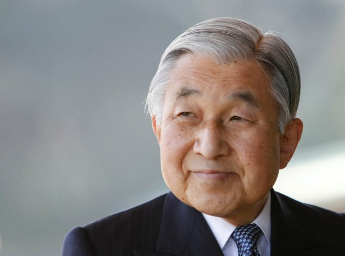 Japan's 84-year-old Emperor Akihito. Reuters.