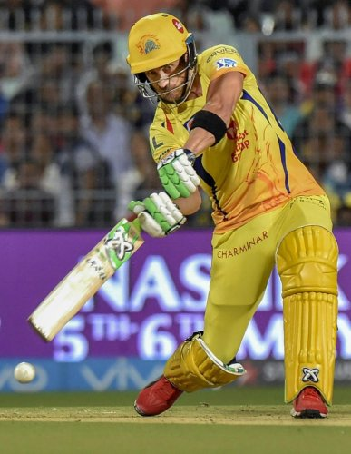 Chennai Super Kings' skipper Mahendra Singh Dhoni said Faf du Plessis' knock showed how experience mattered in T20 cricket. DH FILE PHOTO