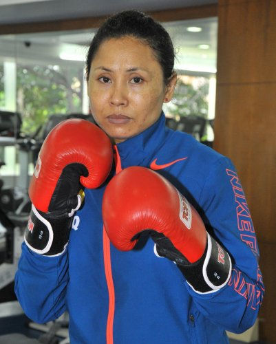 Indian boxer L Sarita Devi claimed a bronze in the women's 60kg event at the 13th Silesian Open Boxing Tournament in Gliwice, Poland on Saturday.