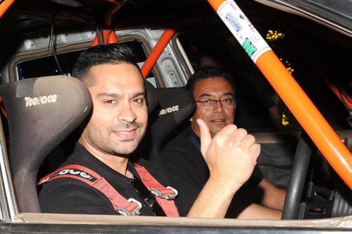 Gaurav Gill (left). DH File Photo