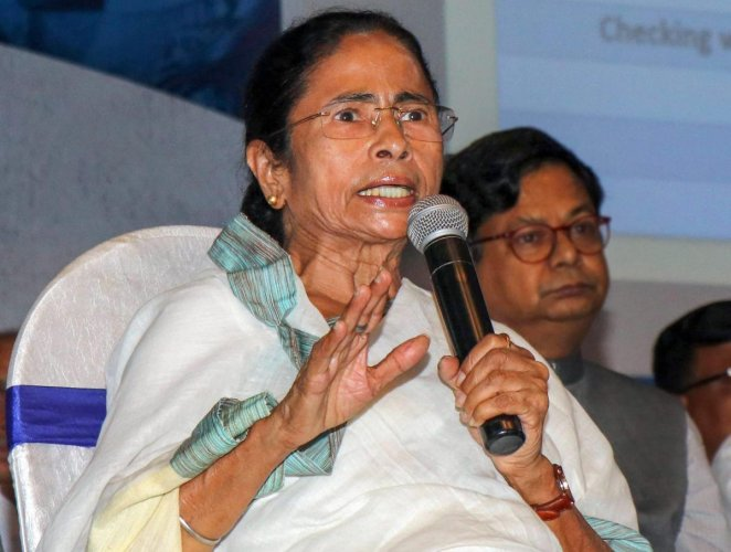 'Congratulations to the winners of Karnataka polls. Those who lost, fight back,' the TMC leader tweeted. (PTI photo)