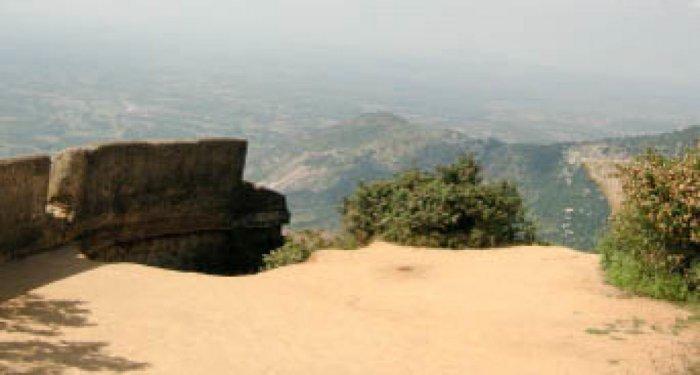 Tippu drop at Nandi hills, near Bengaluru. DH Photo