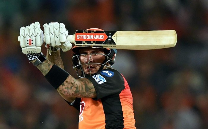 Delhi Daredevils dropped Sunrisers Hyderabad's Alex Hales when he was on nine and that turned out to be costly. PTI