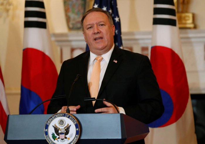 US Secretary of State Mike Pompeo. Reuters Photo