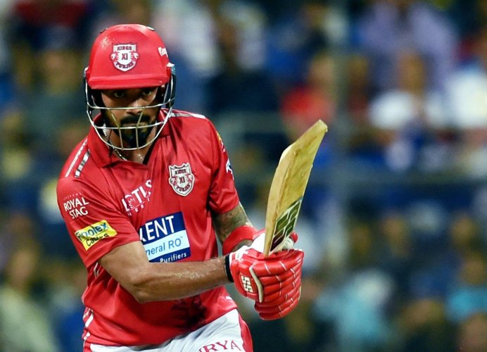 ON A ROLL: Kings XI Punjab will hope K L Rahul to come good again in their crucial tie against Chennai Super Kings. PTI
