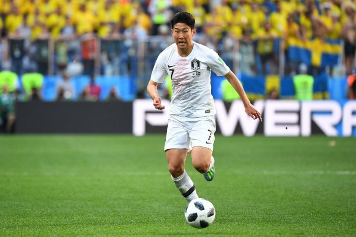 South Korea's forward Son Heung-min will be under immense pressure against Mexico. AFP