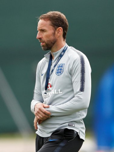 England manager Gareth Southgate dislocated his shoulder while out running on Wednesday. Reuters