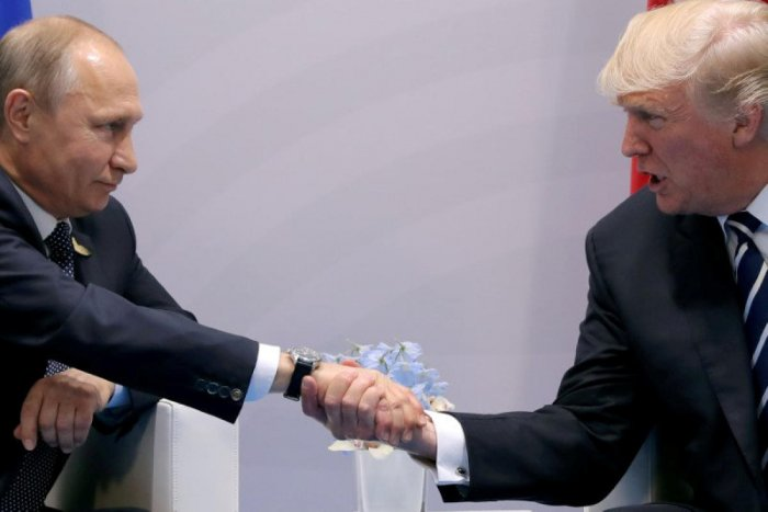Some news reports and analysts have suggested Trump might be prepared to concede the territory to Putin in exchange for cooperation in Syria. (Reuters File Photo)