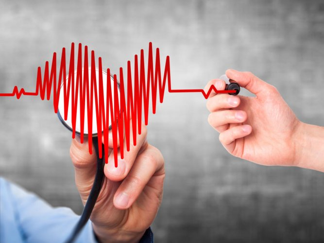 The researchers reviewed recent research evidence on game interventions for CVD-related self-management behaviours in patients diagnosed with coronary artery disease, heart failure, hypertension, or myocardial infarction (heart attacks). (Image for repres