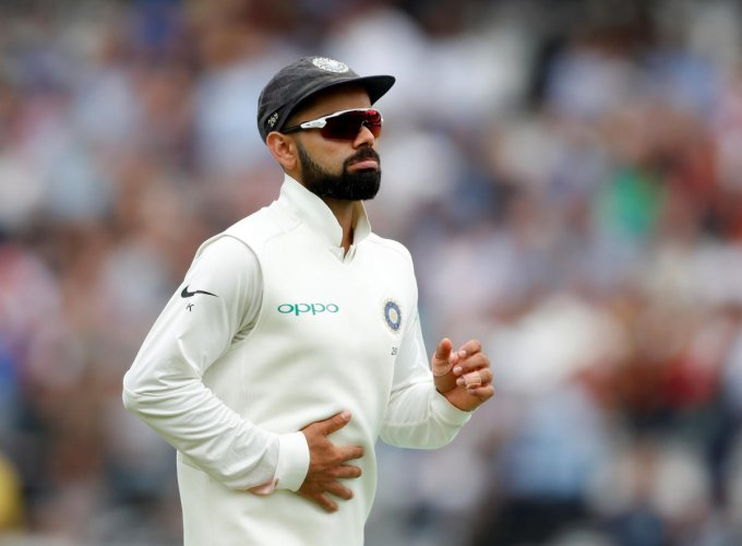 India's Virat Kohli has dropped to second place in the latest ICC Test rankings for batsmen released on Monday. Reuters