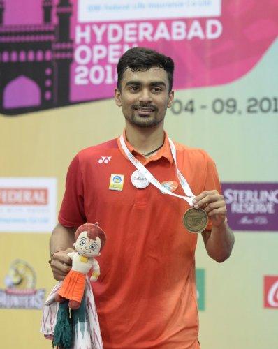 Gold medallist Sameer Verma. AFP