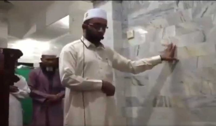 A video of an Indonesian imam stoically reciting evening prayers in Bali as a deadly earthquake struck neighbouring Lombok has gone viral on social media, with internet users praising him for his unwavering faith.