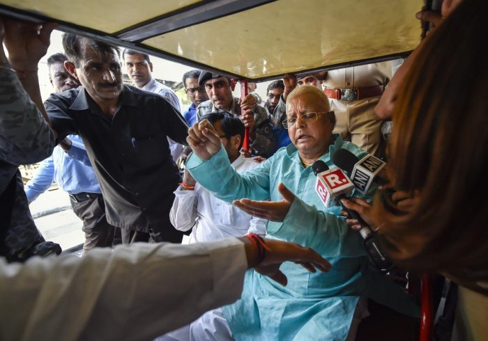 A Delhi court today granted three weeks to CBI to procure sanction from concerned authorities to prosecute an accused in a graft case against former Railway Minister Lalu Prasad Yadav, his wife Rabri Devi and son Tejashwi Yadav relating to the allotment of IRCTC hotels. PTI file photo