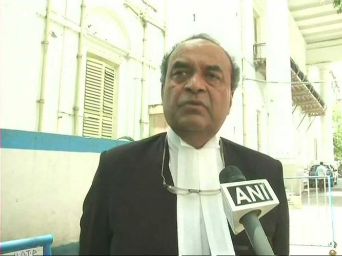 """The senior advocate welcomed the apex court judgement dismissing the pleas and said the manner in which these cases were argued was a """"classic case of contempt"""" and the real purpose was completely """"collateral"""". Image: ANI Twitter"""