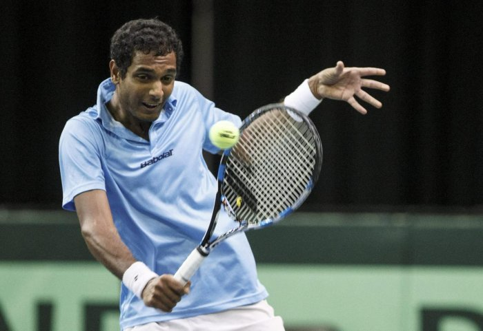 India's Ramkumar Ramanathan is one win away from becoming the second Indian to win a singles title in ATP World Tour. AP/PTI File Photo