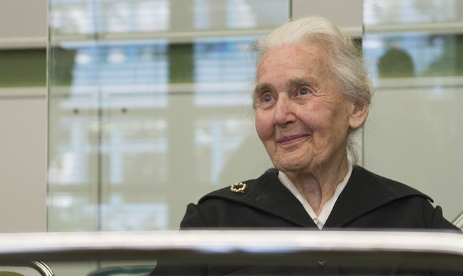 """Germany's jailed """"Nazi grandma"""" Ursula Haverbeck, 89, today lost a challenge before the country's highest court, which reaffirmed that constitutional free speech guarantees do not cover Holocaust denial. Reuters photo"""