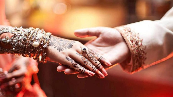 Two sets of cards were printed separately for the Hindu and Muslim invitees for the wedding of Mohammad Salim's daughter, Jahana Bano, with Yusuf Mohammad on April 29 in Baghsarai village here. Representational Image