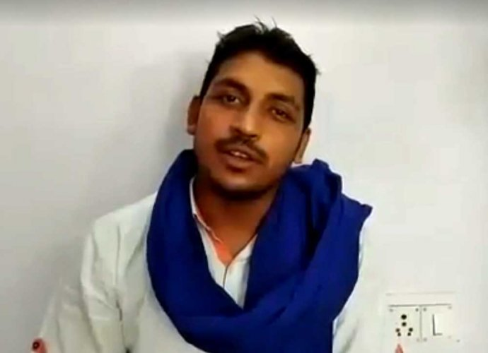 Bhim Army founder Chandrashekhar Azad. File photo
