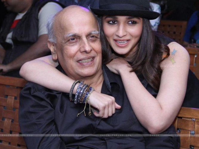 Alia, who is also part of the cast of the film, which is a sequel to Bhatt's 1991 film, made the announcement on her father's 70th birthday. File photo