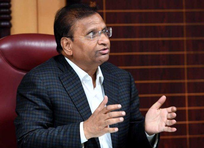 Karnataka State Pollution Control Board Chairman Lakshman