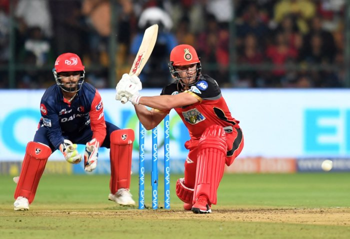 MAGICIAN AB de Villiers says winning IPL for RCB is his sole focus at the moment. DH Photo/ Srikanta Sharma R