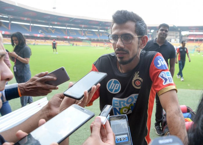 Yuzvendra Chahal sounds confident about RCB's comeback in the ongoing IPL. DH Photo
