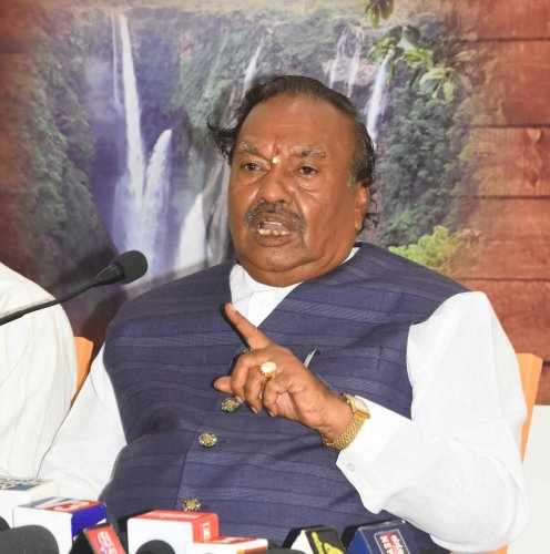 Eshwarappa is likely to face a neck-and-neck race in Shivamogga in the May 12 Assembly polls.