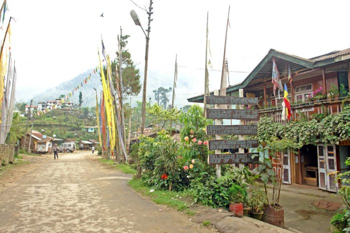 Yuksam is the perfect getaway from the tourist crowds of more popular towns in Sikkim, such as Gangtok and Pelling.