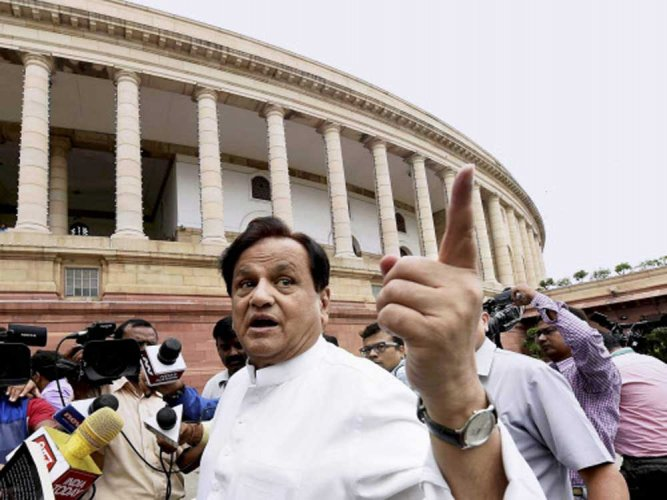 Gujarat High Court on Friday rejected a plea moved by senior Congress leader Ahmed Patel seeking dismissal of petition filed by BJP leader Balwantsinh Rajput against Patel's elections to Rajya Sabha. PTI file photo